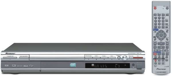 Pioneer DVR-310S DVD Recorder/Player with Progressive scan