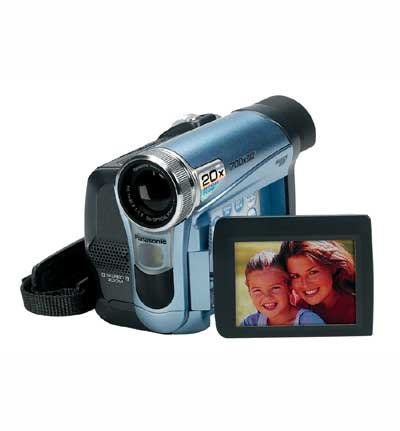 Panasonic PVGS12 Palmcorder  MultiCam MiniDV Camcorder with 2.5 LCD Screen