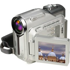 Samsung SC-D303 MiniDV Camcorder 2.5 LCD with 20X Optical / 900x Digital Zoom
