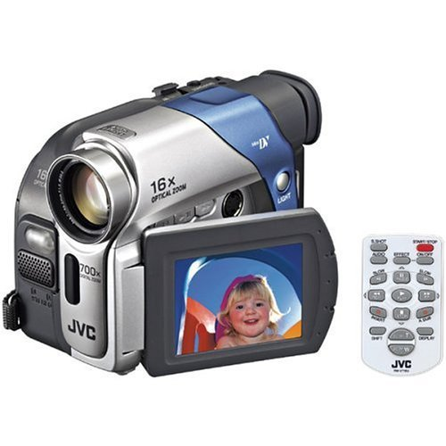 JVC GR-D72 MiniDV Digital Camcorder w/16x Optical Zoom