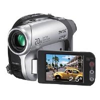 "Sony DCR-DVD602E ""PAL"" DVD Camcorder, 20x Optical/800x Digital Zoom, B&W Viewfiner, 2.5&qu"