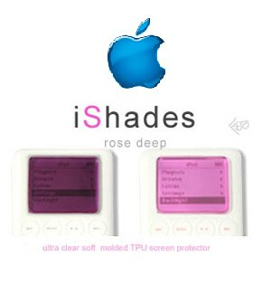 i Shade Ipod Scratch Resistant Protector (Pink)