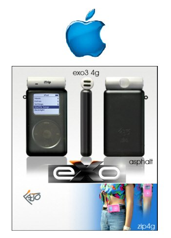 Exo Ipod Mini Case (Asphalt)