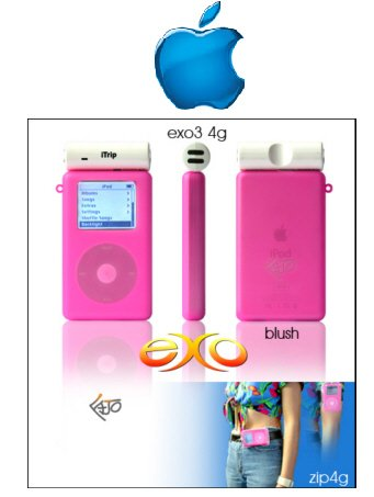 Exo Ipod Mini Case (Blush)