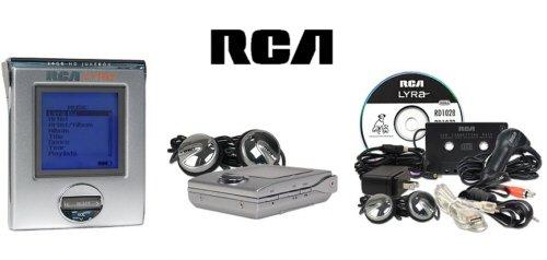 RCA RD2850 Lyra 20GB Audio Jukebox  MP3 Player