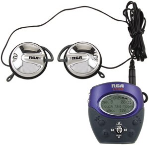 RCA RD1080 128MB Solid State Personal Digital MP3/MP3PRO FM Player