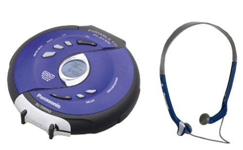 Panasonic SLSW940 Portable CD Player Shockwave