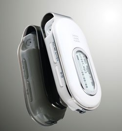 Samsung YP-F1ZW White 1GB  Portable MP3 Player