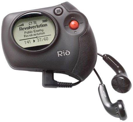 Rio Chiba 256MB Portable MP3 Player + FM Tuner