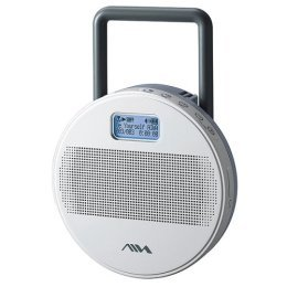 Aiwa AZBS32 Water Resistant Shower MP3 Player with Speaker
