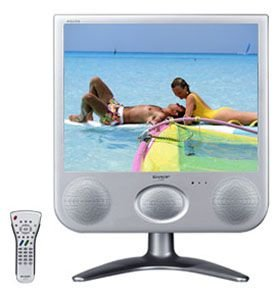 Sharp 15-Inch AQUOS LCD TV with Built in Subwoofer