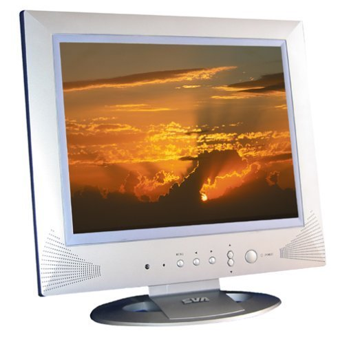 "SVA EV-1703 17"" Inch LCD Flat Panel TV with Speakers"