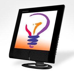"""Sylvania 18"""" TFT Active Matrix Black LCD Monitor"""