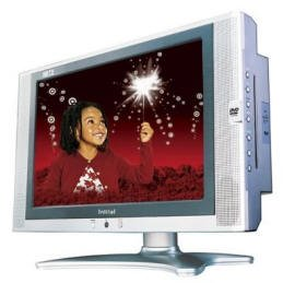 "Initial DTV-171 - 17"" Inch  Widescreen LCD HDTV Monitor w/DVD Player"