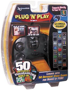 DREAMGEAR - DGUN-853 UNIVERSAL PLUG-N-PLAY CONTROLLER WITH 50 BUILT-IN GAMES