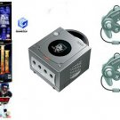 "Nintendo GameCube ""Holiday Pack"" Bundle - 3 Games + 2 Controllers"