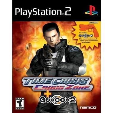 Namco Time Crisis: Crisis Zone With GUNCON 2 (PS2)