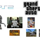 Grand Theft Auto Racing Bundle - 3 Action Packed GTA Games + GTA Steering Wheel