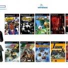 "New Slim Sony Playstation 2 ""Super Wireless Bundle"" - 17 Games + Wireless Controller"