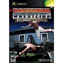 Backyard Wrestling Dont Try This at Home Xbox
