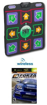 Datel Wireless Dance Pad Combo for Xbox & Xbox 360