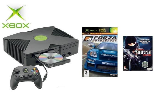 "Xbox ""Live Bundle"" - 2 Games & Xbox Live"