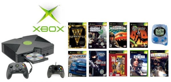 "Xbox ""Adventure Bundle"" - 10 Greatest Selling Games + 2 Controllers"