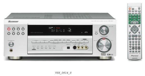 Pioneer VSX-D814K 6.1 Channel Digital AV Surround Receiver