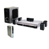 Samsung HT-P38TH - 800 Watts 5 Disc Slick Home Theater System with Wireless Rear Speakers