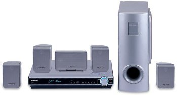 Samsung HTDS610TH - 600 Watts 5.1 Channel Home Theater System / DVD Player