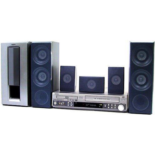Sanyo DWM-3900 - DVD/VCR 5.1 300-Watts Home Theater System