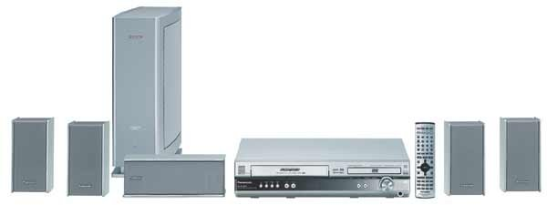 Panasonic SC-HT800 DVD/VCR Home Theater System