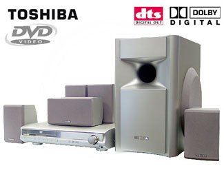 Toshiba SD43HT 320 Watts DVD Home Theater System