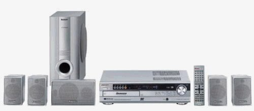 Panasonic SC-HT650 - 500 Watts 5 Disc DVD Home Theater System