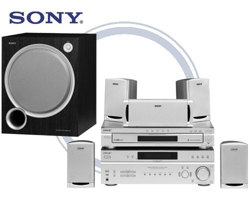Sony HT-5800DP Home Theater System 720-Watts of total Power,  5-Disc Changer, Complete Speaker Syste