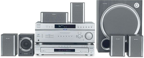Sony HT-6800DP 840 Watts 6.1-channel progressive-scan DVD Home Theater