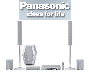 "Panasonic SC-HT920R ""1000"" Watts Slim 5 Disc DVD Home Theater System"