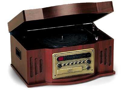 Museo TA-435 Turnable CD/Radio Player