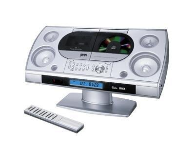 jWIN JX-CD5000 Micro Hi-Fi CD Player System with Stereo Radio, Cassette Player, Recorder & Remote