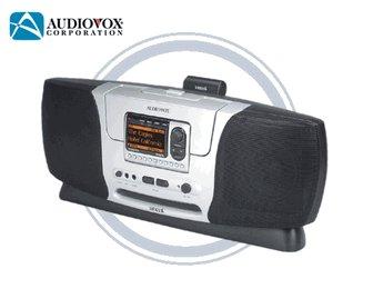 Audiovox SIRBB3 Sirius Satellite Radio Boombox System