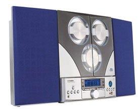 Fisher Slim 2000 AM/FM/3 CD Slim Design Shelf System