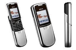 Nokia 8801 GSM Color VID Camera Tri Band Cell Phone (Unlocked)