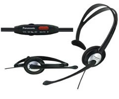 Panasonic Rp-el170 Hands-free Lightweight Headset