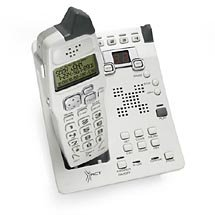 Xact XG2400 2.4 Ghz Cordless Phone System with Color Caller ID and Digital Answering System