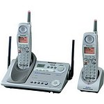 Panasonic KX-TG5212M - 5.8 GHz DSS Expandable Cordless Phone with Dual Handsets and Answering System