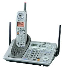 Panasonic KX-TG5240M - 5.8 GHz FHSS GigaRange Supreme Expandable Digital Cordless Phone System with