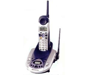 Panasonic KXTG2226 2.4GHz GigaRange Digital Cordless Phone w/ Voice Enhancer & Digital Answering Sys