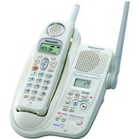Panasonic KXTG2343 2.4GHz GigaRange Digital Cordless Phone w/ Voice Enhancer w/ Digital Answering Sy