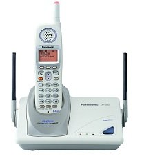 Panasonic kxtg5050 5.8 Ghz Cordless Phone System w/ Light-up Antenna & Headset Speakerphone