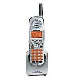 Panasonic KXTGA520 5.8GHz Expandable Phone System  Handset